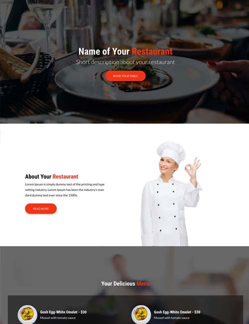 Restaurant - Home