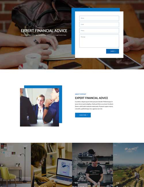 Finance - Home