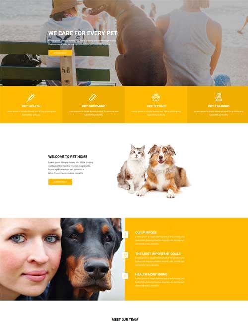 Pet Care - Home