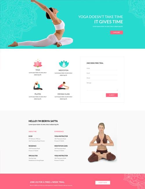 Yoga - Home