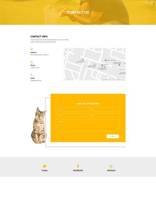 Pet Care - Contact