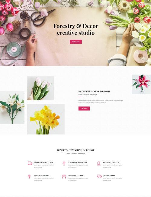 Florist - Landing