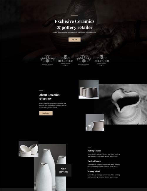 Ceramics-Pottery - Landing