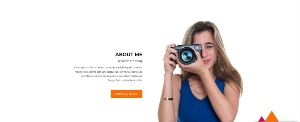 divi-photography-template-about-section