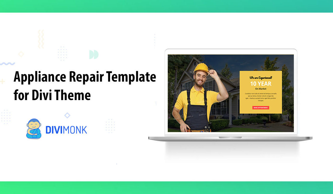 Appliance Repair Template for Divi Theme