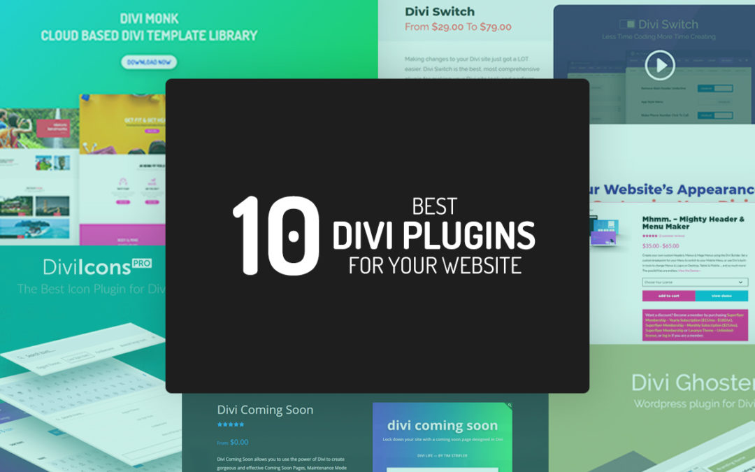 10 Best Third-Party Divi Plugins for your website