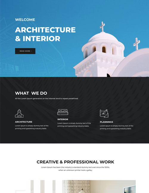Architecture - Landing