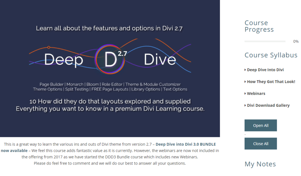 Deep Dive into DIVI
