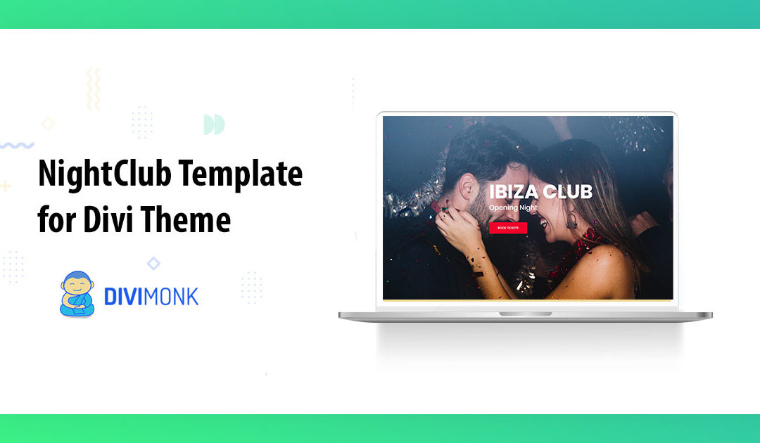 Night Club Template for Divi Theme