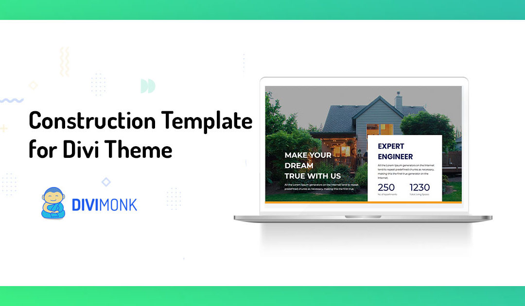 Build an impressive website with Divi Construction Template