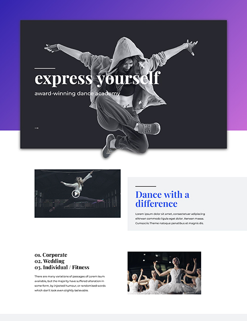 Dance Academy - Landing