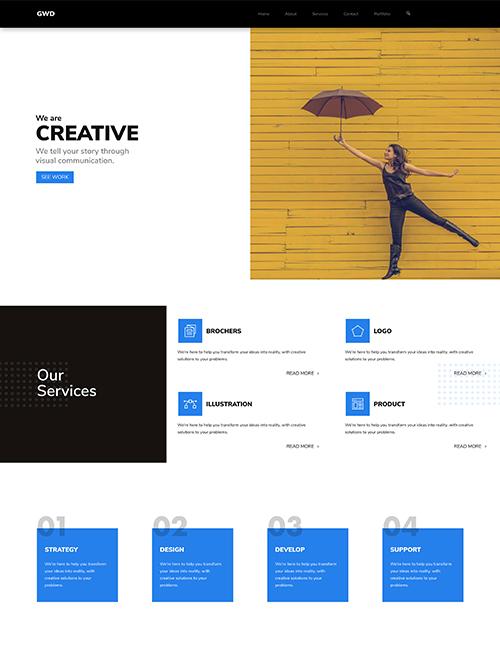 Graphics Design - Landing