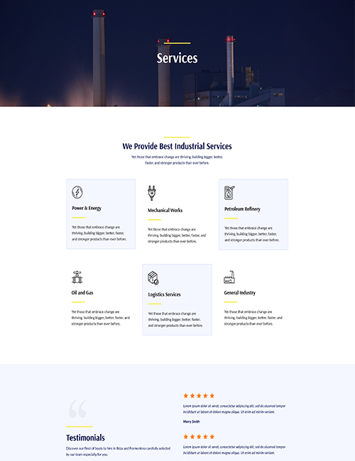 Industrial - Service